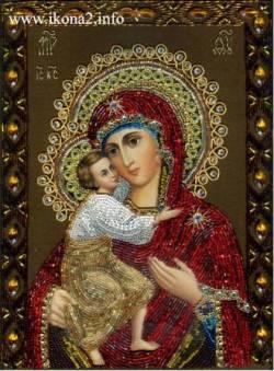 Рис. Феодоровская икона Божией матери
